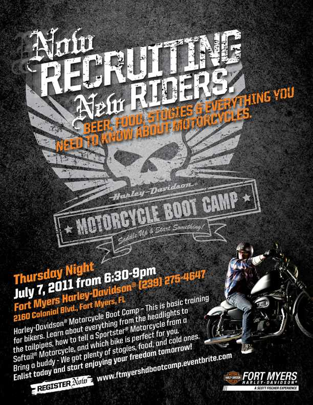 Rider Boot Camp at Fort Myers Harley-Davidson
