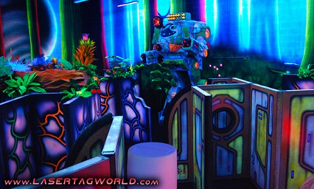 Earth Quest Laser Tag Arena