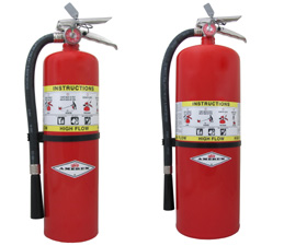 High Flow Fire Extinguishers by Amerex