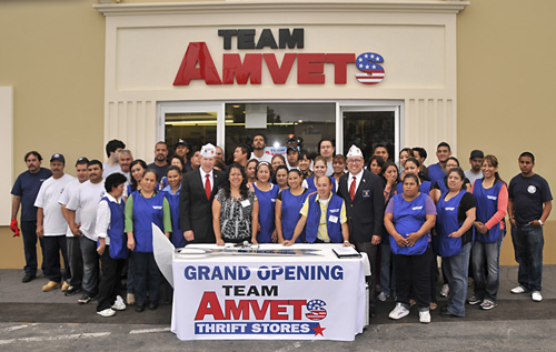 AMVETS store employees, Pidgeon, & Ramos