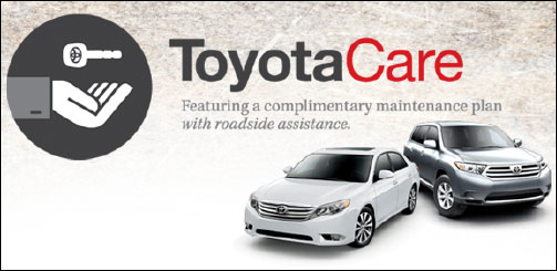 Buy Or Lease A Car And Get A Free Toyota Care Plan.