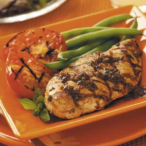 healthy grilled chicken