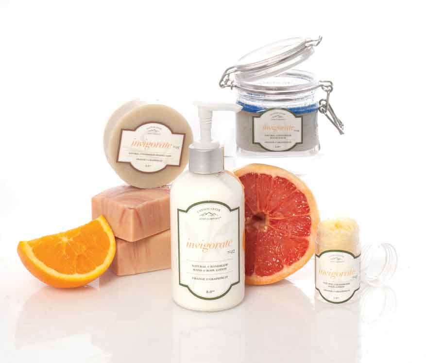 Canyon Creek Soap Co. product sampling