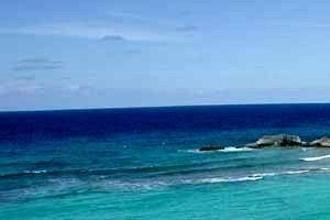 Mudjin harbour, Middle Caicos, Turks & Caicos Is.