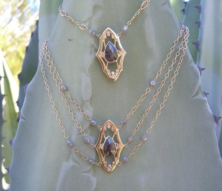 Yucca With Diamonds