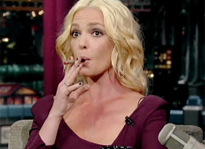 Katherine Heigl - David Letterman Show