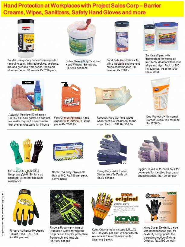 Hand Protection Products in Stock