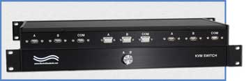 7460 HD15 VGA, USB-A Keyboard/Mouse A/B KVM Switch