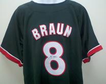 Ryan Braun Signed Univ of Miami Jersey