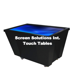 SSI Touch Table, Touch Screen Table, Multi Touch