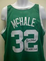 Kevin McHale Signed Celtics Jersey JSA
