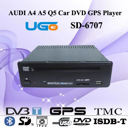 Audi A4 A5 Q5 Car Dvd Gps Navigation Player Sd-6707 -- UGO DIGITAL ELECTRONICS CO.,LIMITED | PRLog