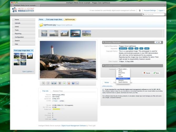 User-friendly digital asset management software