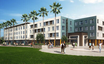New student housing development designed by KTGY