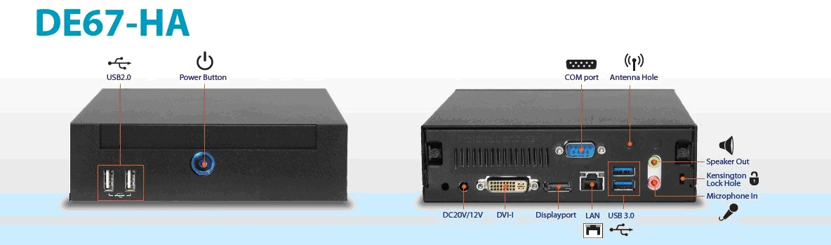 AOpen DE67-HA Digital Engine Windows 7 64-BIT