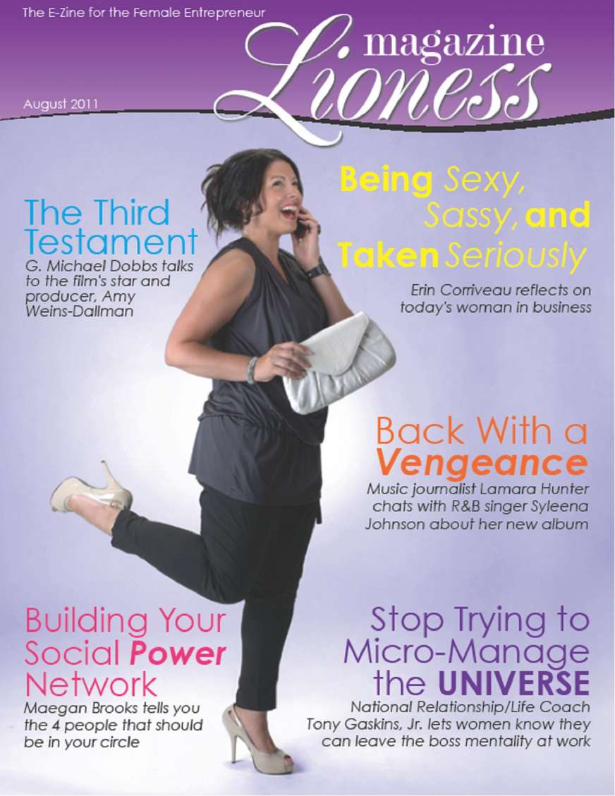 Lioness Magazine premieres August 2011