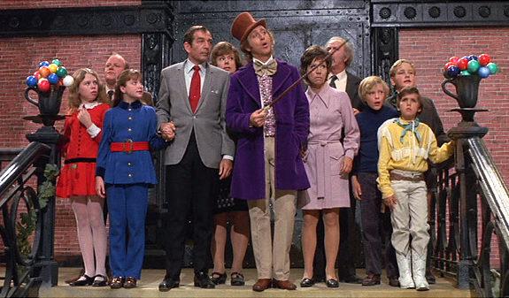 Willy Wonka cast