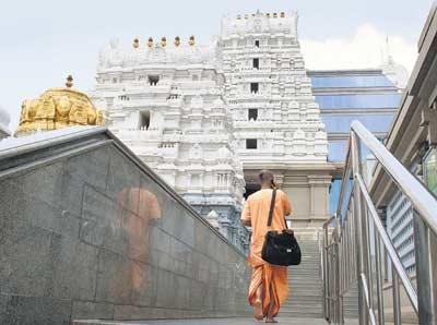 Broker distribution temple