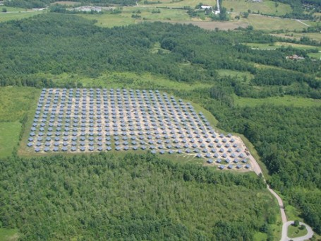 Vermont Solar Tracker Farm