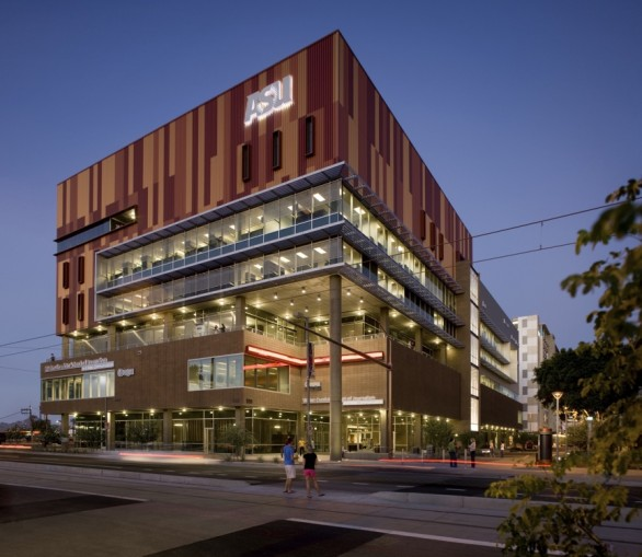 Metal Sales Offers Custom Metal Facade to ASU