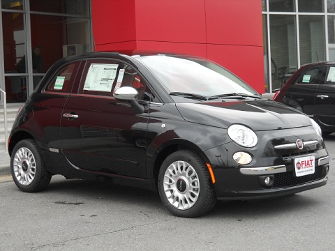 FIAT 500 Lounge Criswell FIAT of Gaithersburg MD FIAT Dealer serving Virginia and DC