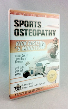 DVD Cover-Sport Osteopathy-Kick Faster in 5 Minute