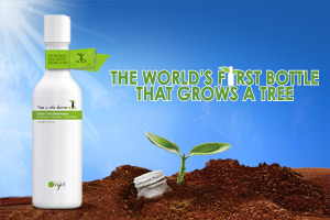 The world's first bottle that grows a tree!