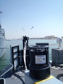 Sonardyne Sentinel sonar at DSEI