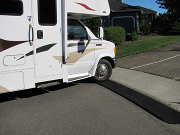 Bridjit Curb Ramps Benefit Rv Owners With Rolled Top