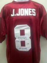 Julio Jones Signed Alabama jersey PSA DNA