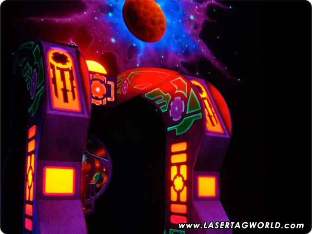 Laser Tag Arena - Space Quest