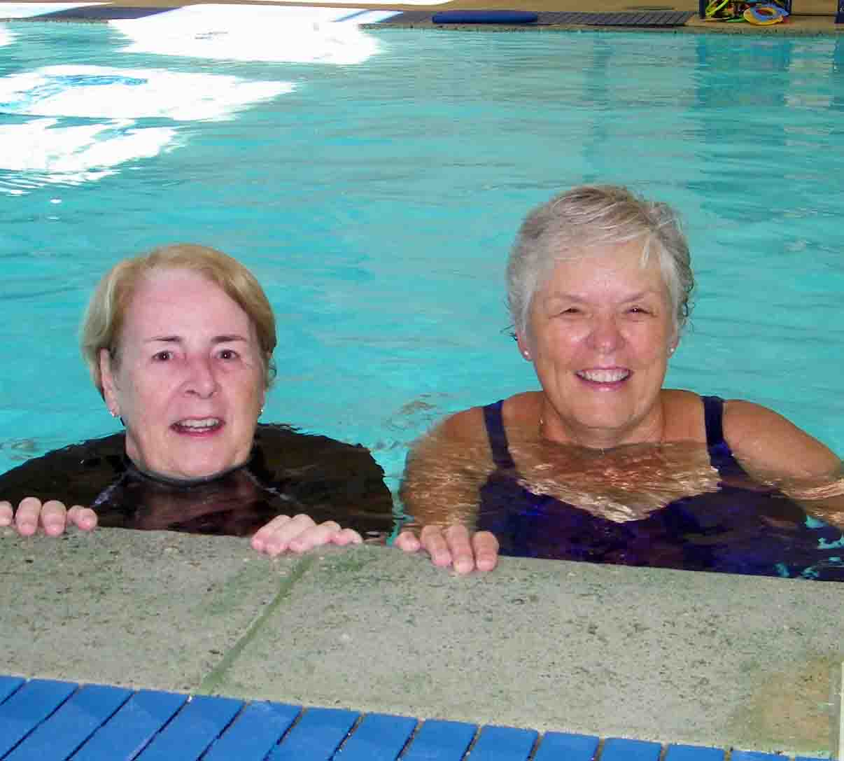 All ages benefit from swimming at the Y.