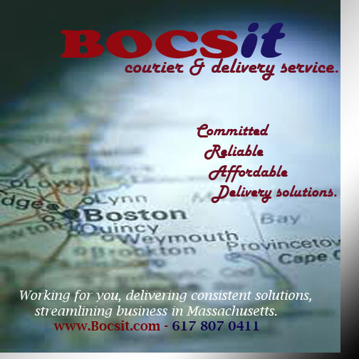 Boston courier service,delivery in ma