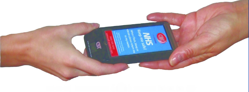CST's TouchClean treated Hospital Pagers