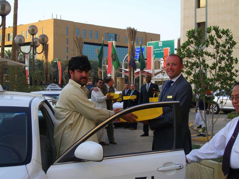 """Sheraton Riyadh Hotel """"Iftar for Cabs 2011"""""""