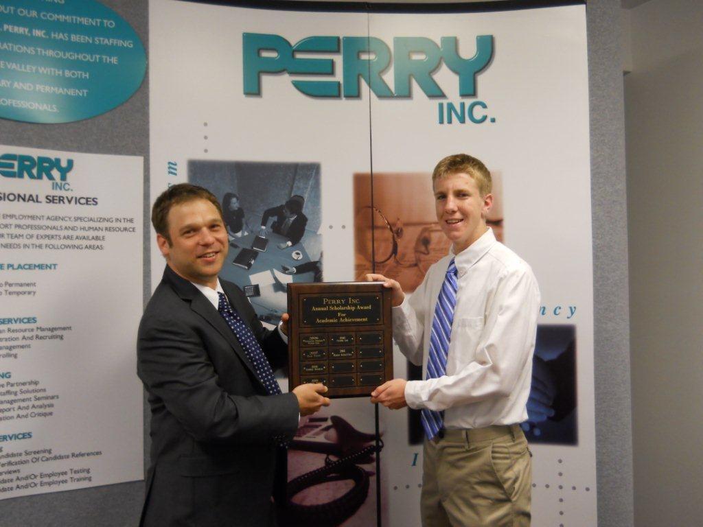David Weiss of Perry Temps and Ryan Scheffler