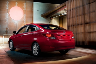 2012 Hyundai Accent - Red