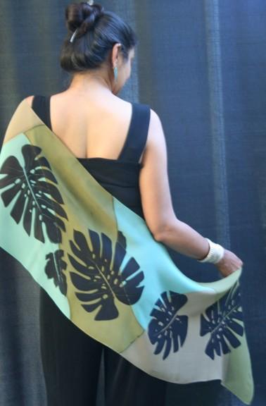 Luxurious Silk Wrap from Kavita