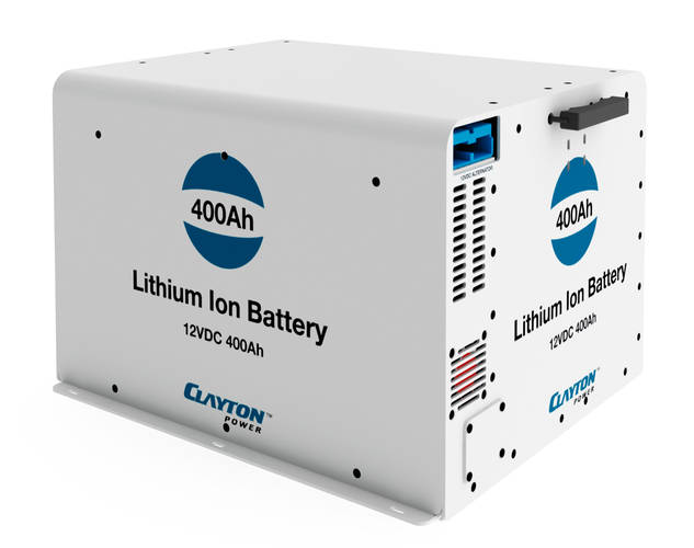 Lithium Ion Battery 400Ah - 12VDC