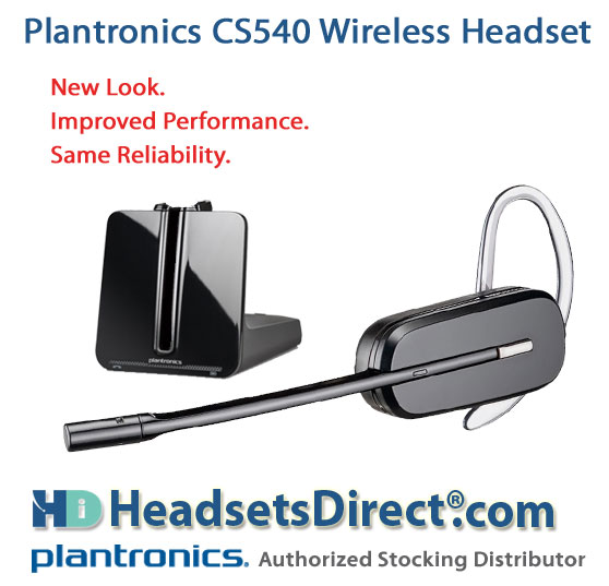 Plantronics CS540 Headset to Replace CS55