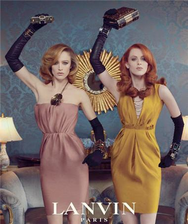 lanvin fw 2011-2012 ad campaign- stylert