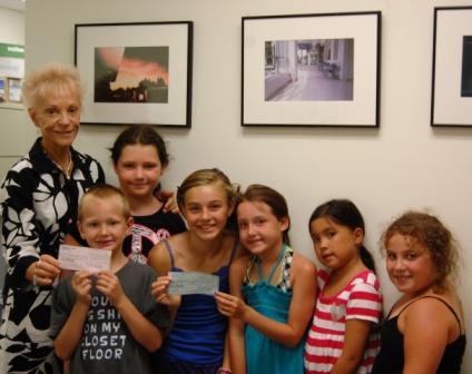 Valhalla children raised funds through summer fun.