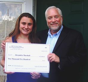 Alexandra Marshall Earns NJABC Scholarship