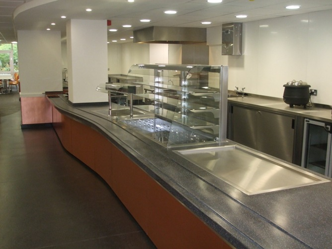 Catering Equipment: Moffat supplies bespoke copper laminate ...