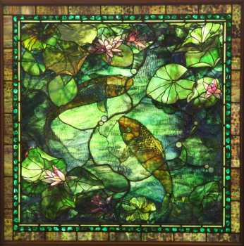 Stained glass window by Steven Steltz