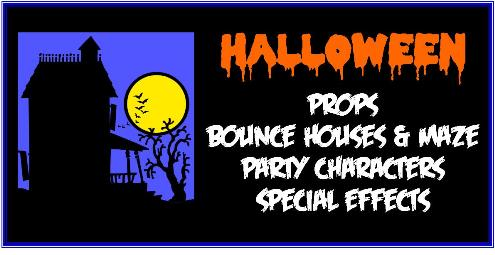 Halloween Party Rentals San Diego