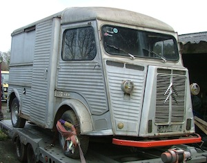 Vintage Citroen H Van