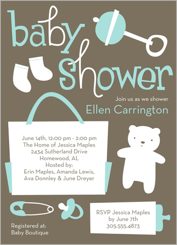 Little Things Blue Shower Invitation_Web