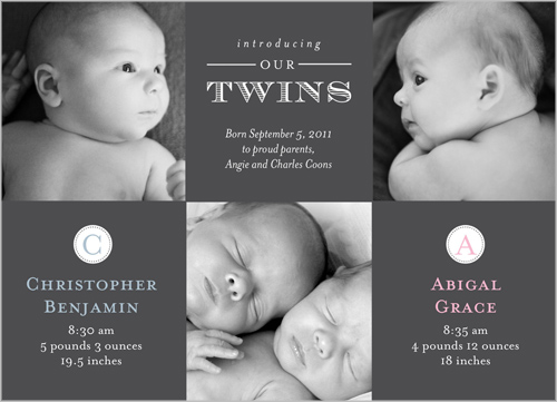 Seeing Double Baby Announcement_Web