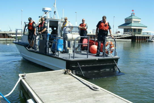 Search and Rescue Police Boat